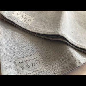 Fog Linen Kitchen Towels (Set of 2) NEW